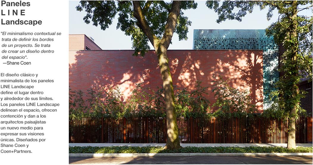 L I N E - Paneles Landscape