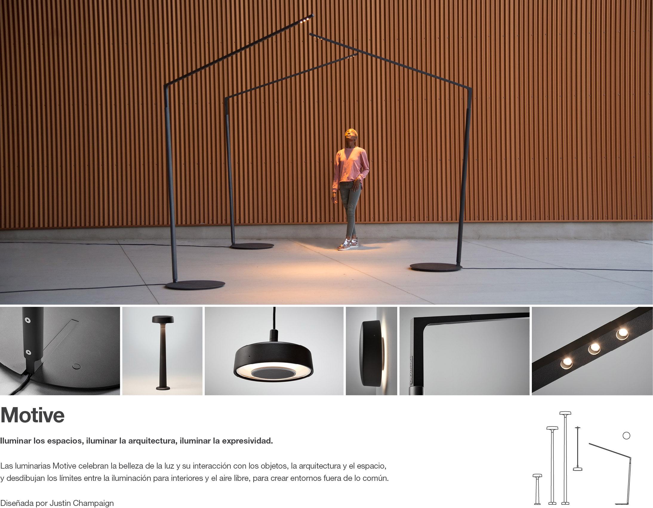 Motive - Iluminaciónpara el aire libre