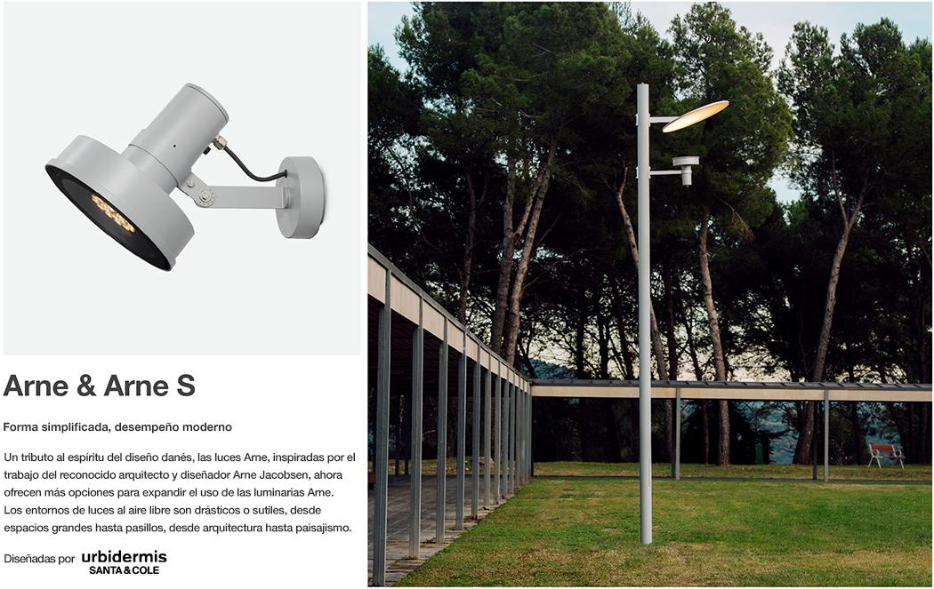 Iluminación Arne